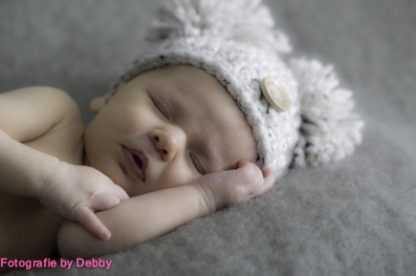 pompoen-baby-muts