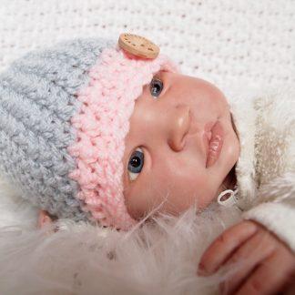 baby-beanie-knoopmuts-gehaakt