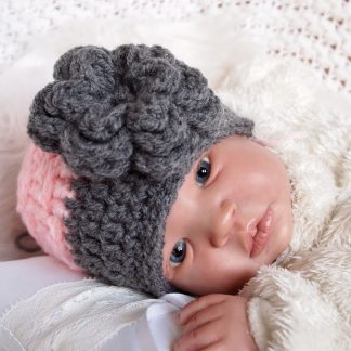 gehaakte-baby-beaniemutsje